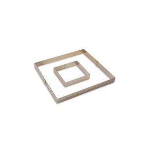 ARO INOX 33X33XH3.5CM