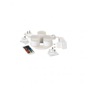KIT 4 VELAS LED MINI MULTICOLOR