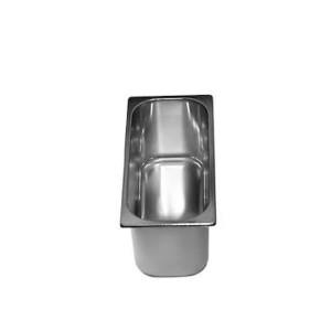 CONTAINER PARA GELADO INOX 36X16.5XH12CM 500CL