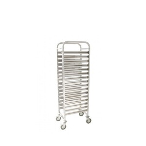 CARRO INOX 16 CONTAINERS GN1/1 65MM