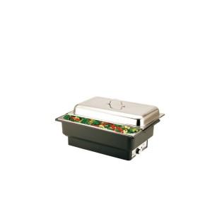 CHAFING DISH ELECTRICO C/ BASE PRETA GN1/1