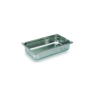 CONTAINER INOX PERFURADO GN 1/1 100MM