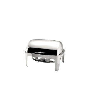CHAFING DISH C/ ROLL TOP GN1/1 8.5L