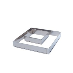 ARO INOX EXTENSIVEL RECTANGULAR 21.5X11.5CM