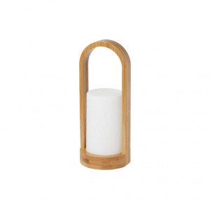 PORTA VELAS BAMBU EASY 240X100MM