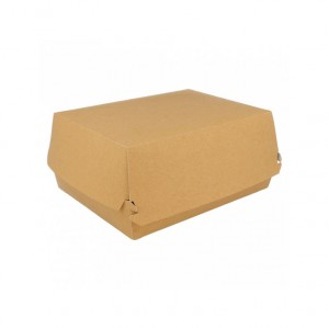 CAIXA LUNCH BOX KRAFT 22.5X18X9CM PACK 50UN