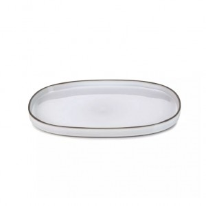CARACTERE WHITE TRAVESSA OVAL 35.5CM