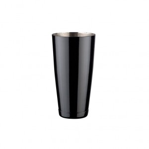 BOSTON SHAKER INOX PRETO BRILHANTE 900ML