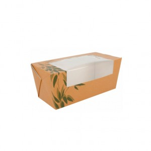 CAIXA PAPEL FEEL GREEN 20.5X9X9CM PACK 150UN